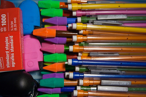 School Supplies Pencils Erasers August 07, 20103 | by stevendepolo