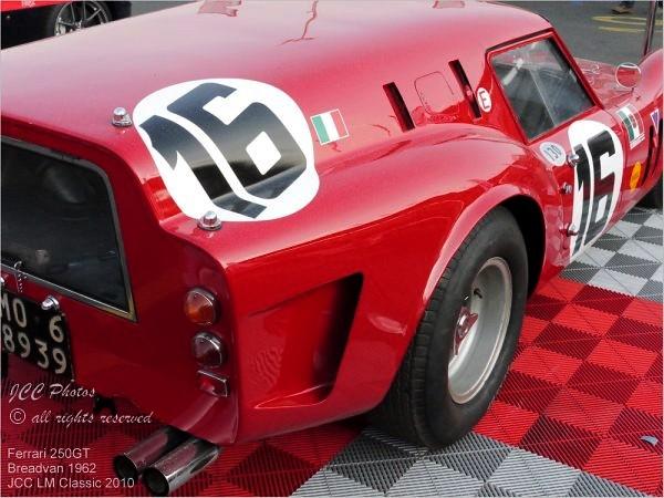 Le Mans Classic 2010 Ferrari 250 GT Breadvan 1962