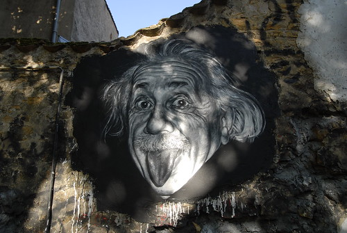 Albert Einstein painted portrait _DDC9392 | by Abode of Chaos