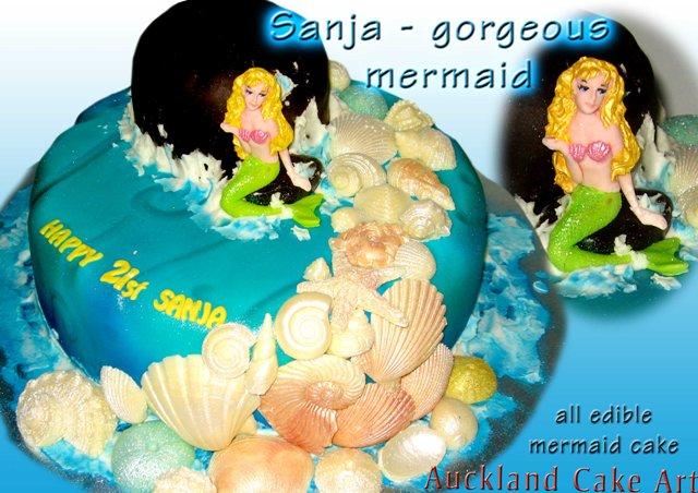 SANJA MERMAID BIRTHDAY CAKE