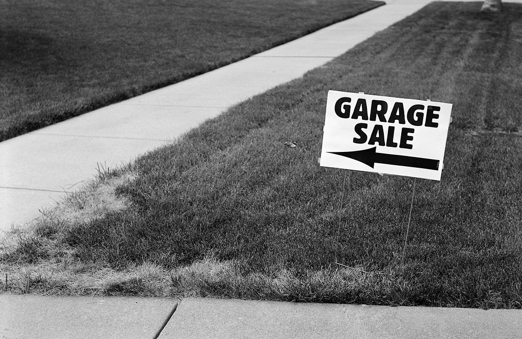 Garage Sale Sign, August, 2010 | Maggie Osterberg | Flickr
