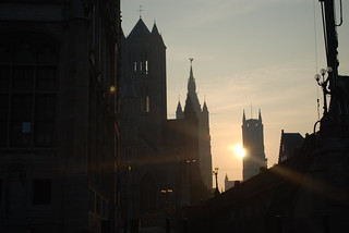 Ghent, Manhattan of the Middle Ages !