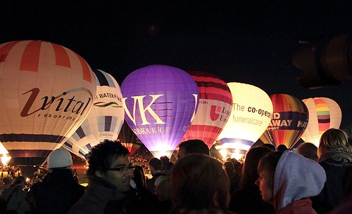 Bristol Balloon Fiesta Nightglow 2010 | by katpiggott