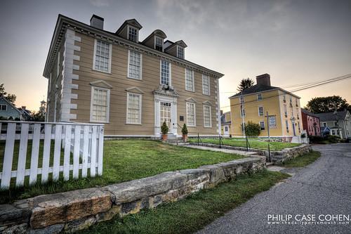 Wentworth-Gardner House by Philip Case Cohen