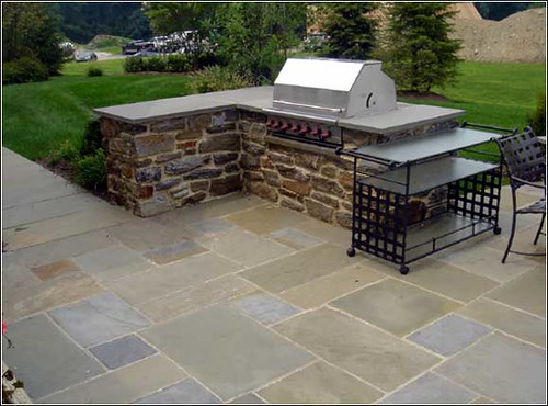 Atlanta-Patio-Grill | by ARNOLD Masonry and Landscape