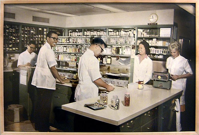 El Camino Hospital Pharmacy c1960