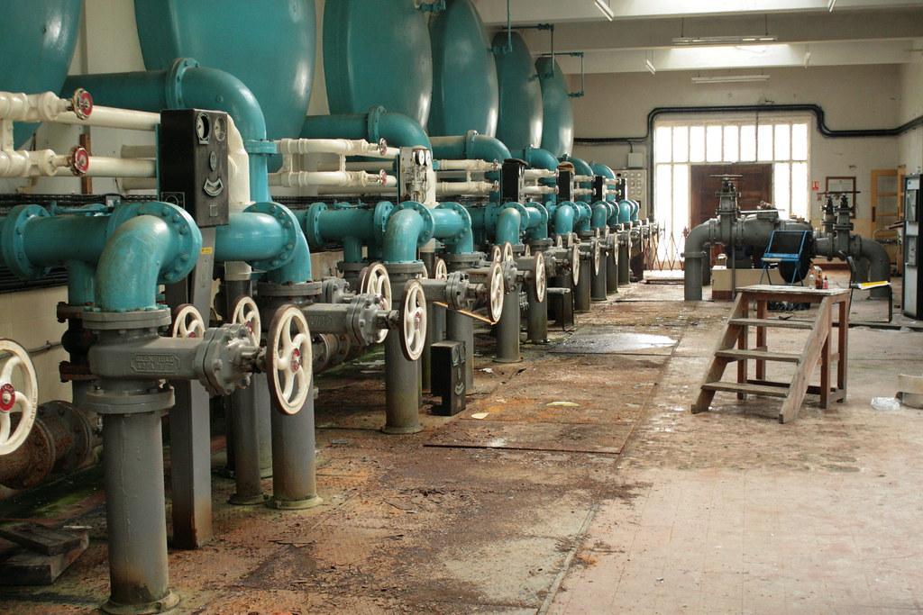 Redmires Water-Treatment