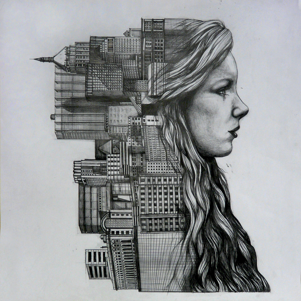 A Pencil Drawing I Did For My Gcse