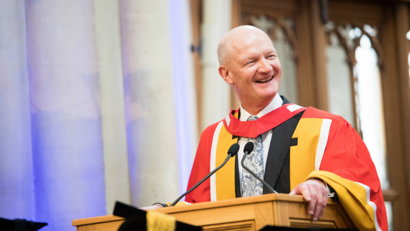 University Honorary Graduate Lord David Willetts