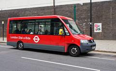 Dial-a-Ride 7065 (YX58GTF) in Finchley