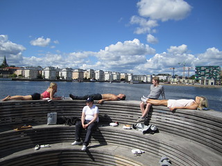 Hammarby's unique pier | by La Citta Vita