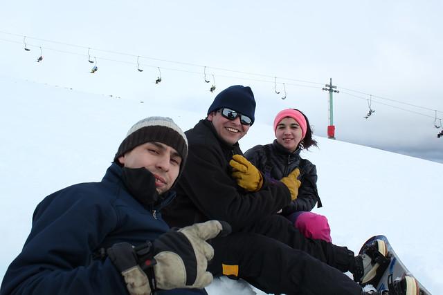 Jano, Carlos y Leslie