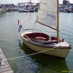 The Zijlsloep at the National Sloop Show, Bataviahaven Lelystad, 2010.