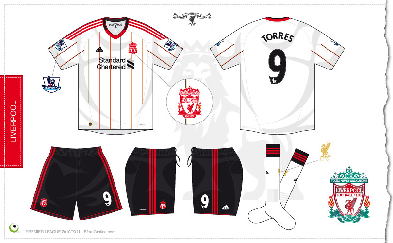 sale retailer 457d2 8299b Liverpool away kit 2010/2011 | Sergio Scala | Flickr
