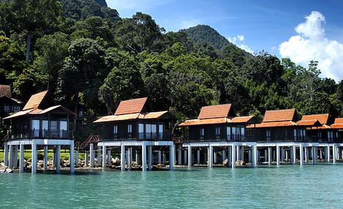 Berjaya Langkawi Resort - Junior Chalet on Water - Facade   by bloggerskafe
