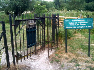Walkers gate at Minster Lovell Hall | by Tip Tours