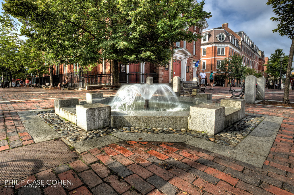 Market Square Fountain by Philip Case Cohen
