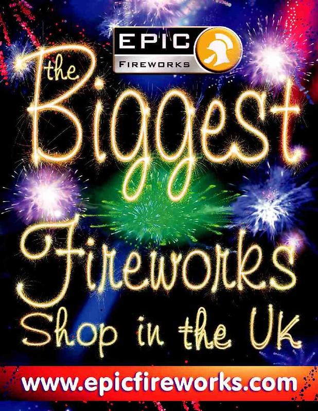 Epic Fireworks For Sale - The Biggest Fireworks Shop In The UK