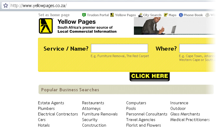 yellow-pages-south-africa   South Africa Yellow Pages Online