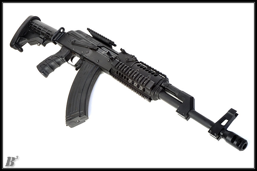WASR 10  460 conversion | This is a WASR 10 AK converted by
