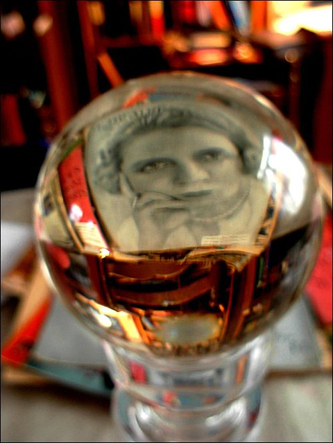 portrait in the crystal ball