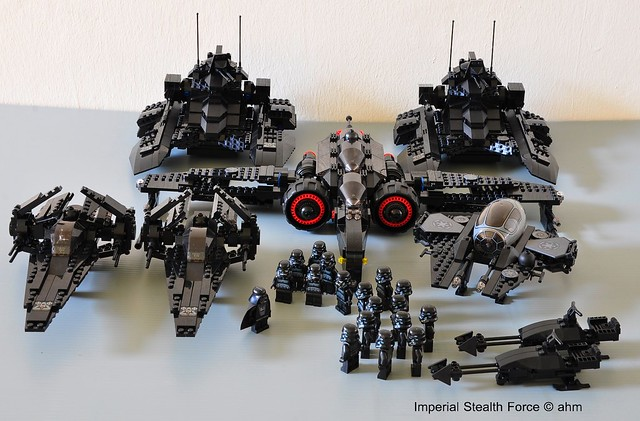 Star Wars Lego Darth Vader and the Imperial Stealth Force