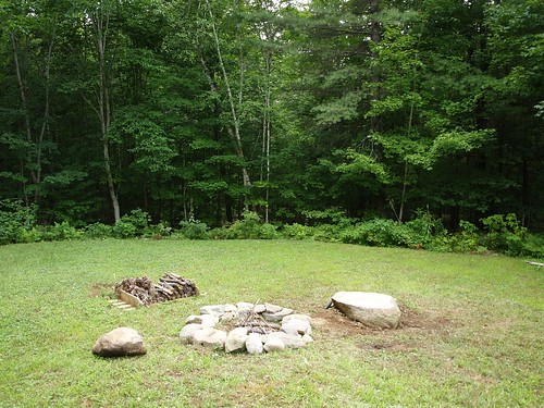 Firepit and woods | by climbnh2003