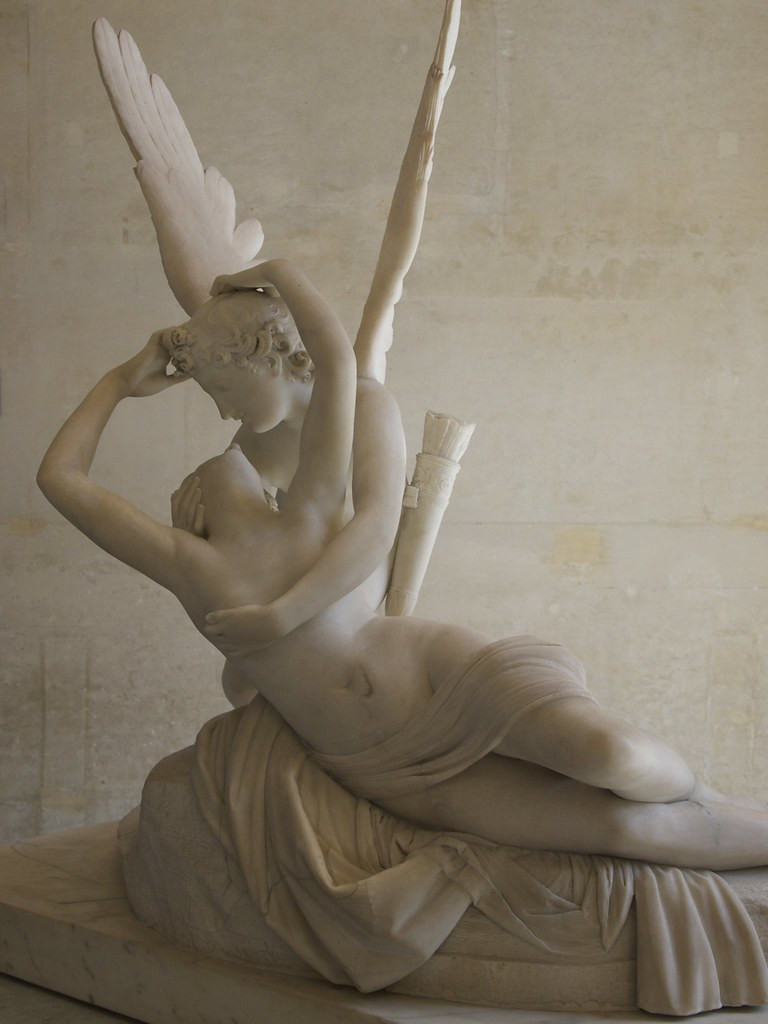 Cupid and Psyche (Amor e Psique) in the Louvre | Cupid aka E