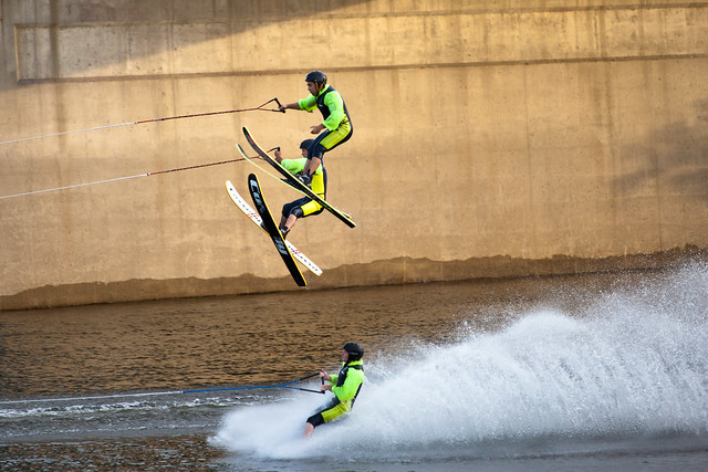 U.S. Water Ski Show Team - Scotia, NY - 10, Aug - 17