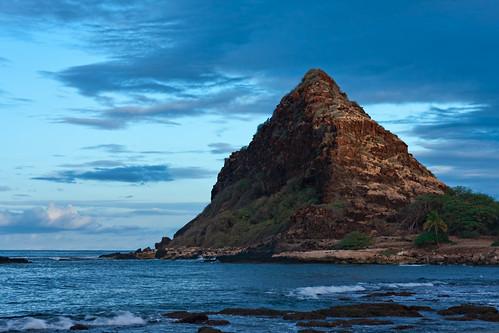 seascape detail sunrise hawaii oahu topaz makaha adjust denoise papaleokane