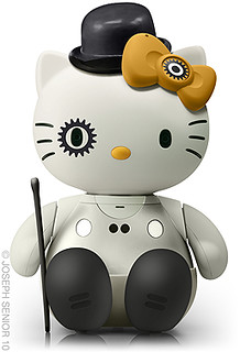 Hello Clockwork Orange Kitty
