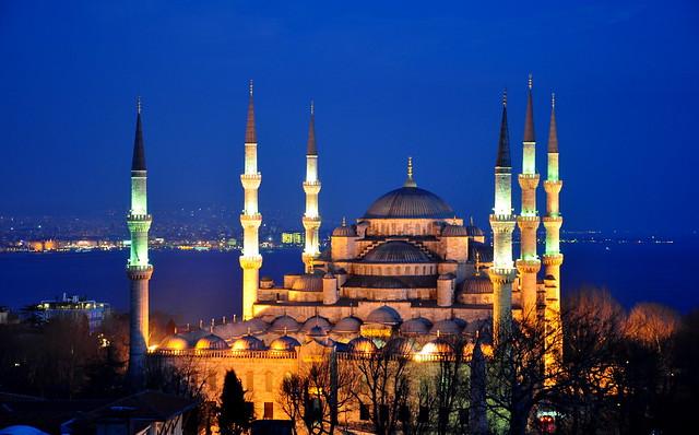 Blue Mosque, Blue Hour