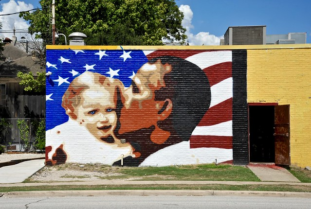 Barack Obama Mural - Houston,Texas
