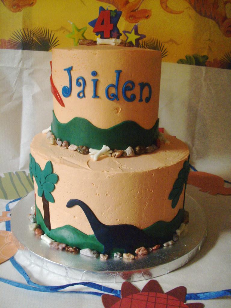 My Son 4th Birthday Cake