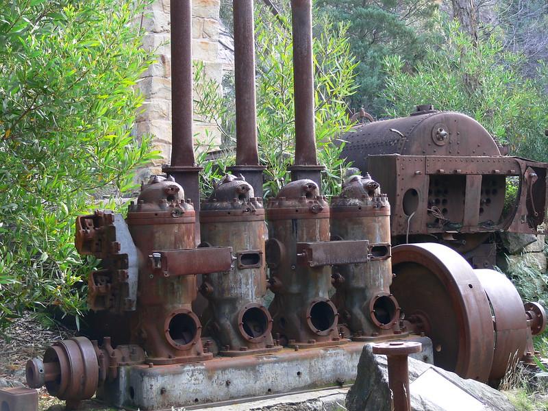 Heatherlie Quarry Machinery