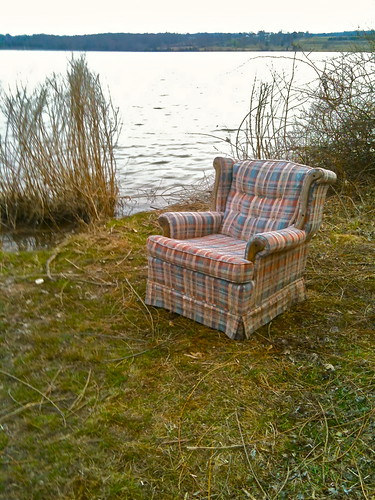 landscape chair furniture pennsylvania surreal pa armchair greenlane montgomerycounty illegaldumping greenlanereservoir
