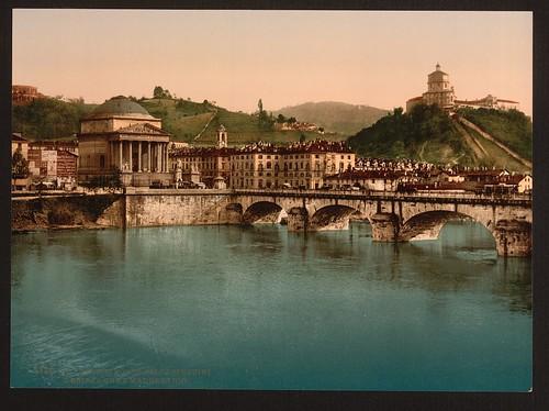Torino, Monte dei Cappuccini e chiesa Gran Madre de Dio [Turin, Italy]  (LOC) | by The Library of Congress