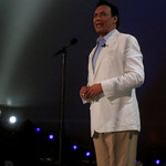 Host Jimmy Smits Entertains The Audience