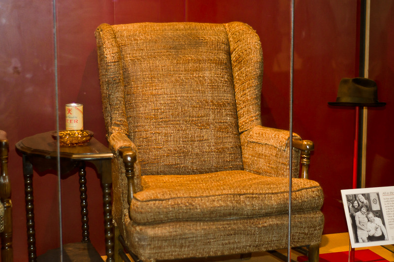 Archie Bunker S Chair Archie Bunker S Chair Beer And Hat