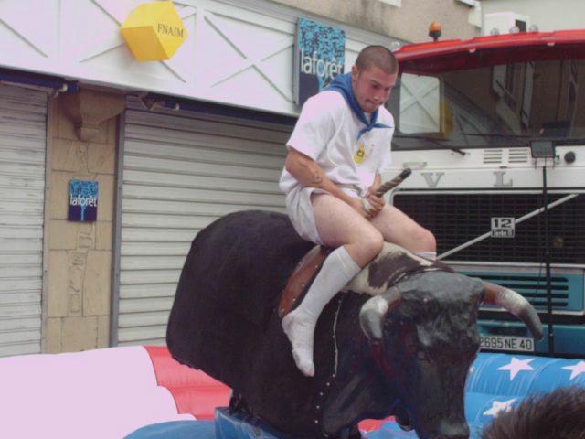 La Madeleine 2010 :rodeo de toro