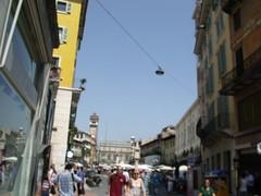 Piazza della Erbe, Verona