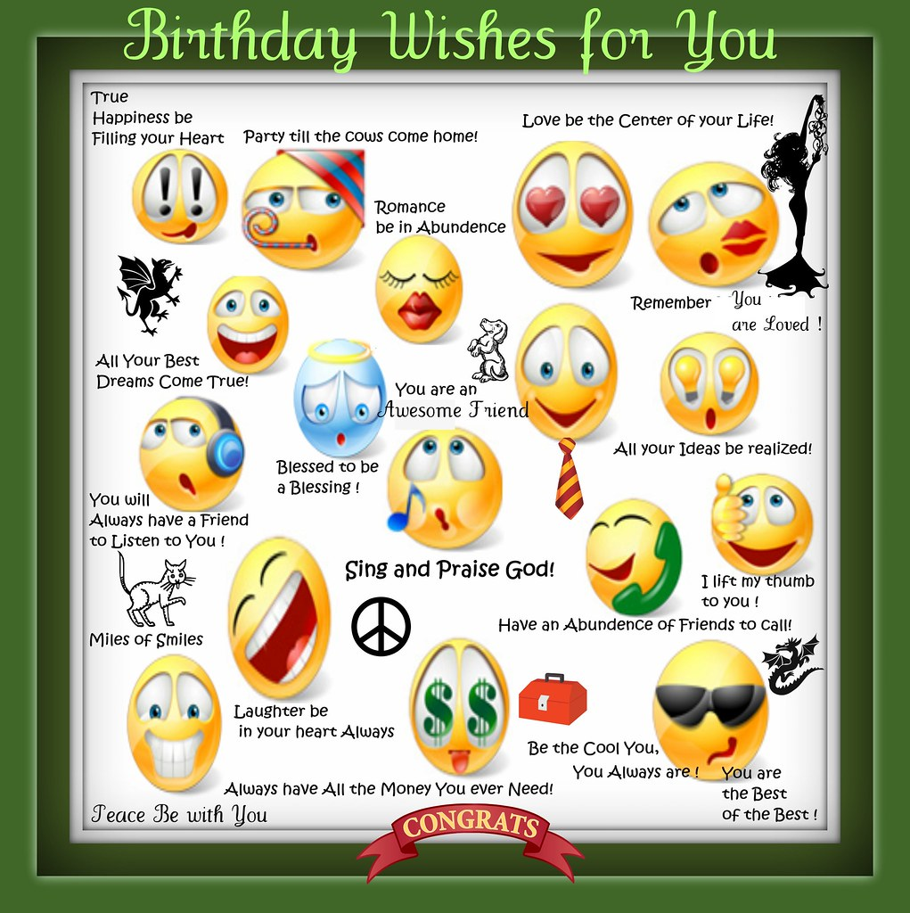 All sizes   Happy Happy Birthday Wishes just for You! Guy