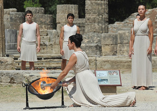 Flame Lighting Ceremony - Olympia, Greece | by Singapore 2010 Youth Olympic Games