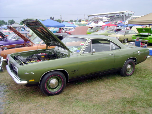 1969 Plymouth Barracuda 'Cuda 440   Carlisle All-Chrysler Na