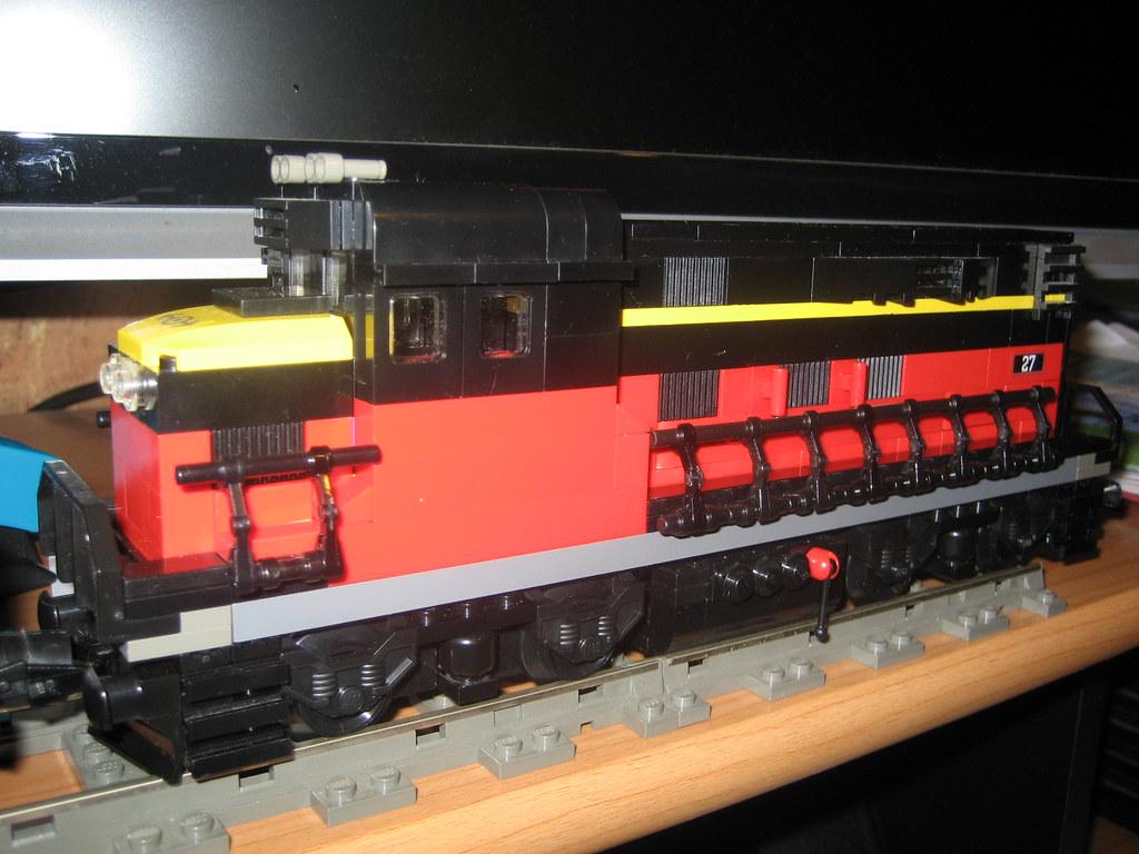 lego train moc no1   Hey! This is my first lego moc train, a