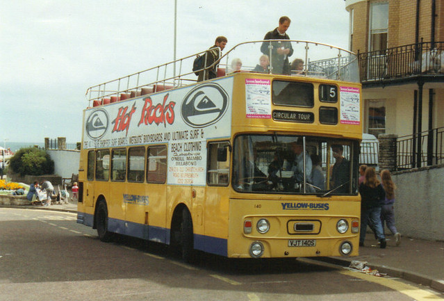 140, VJT 140S, Leyland Fleetline, Alexander Body CO43-31F, 1978 (t.1993)