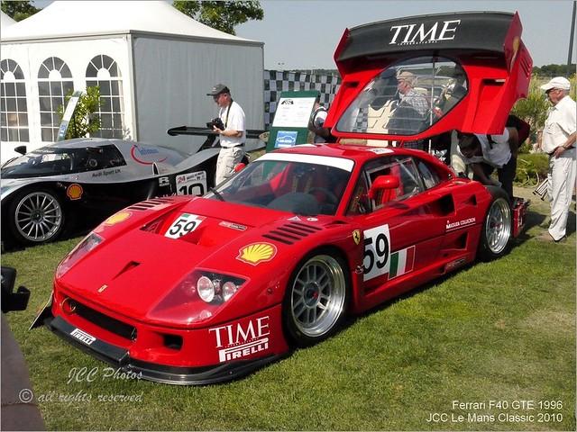 Le Mans Classic 2010 Ferrari F40 GTE 1996