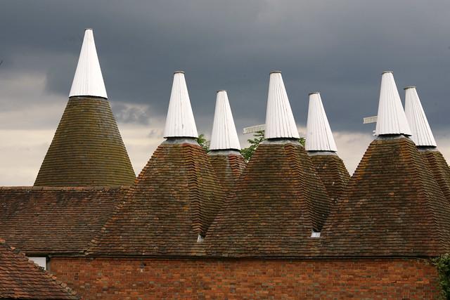 Oast Houses - Sissinghurst, Kent