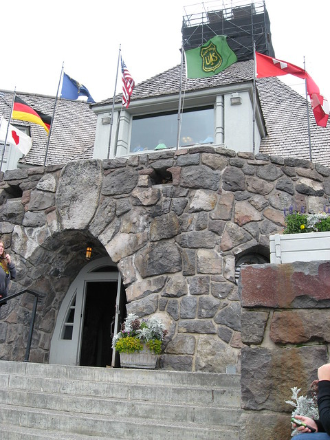 Main Entrance to Timberline Lodge