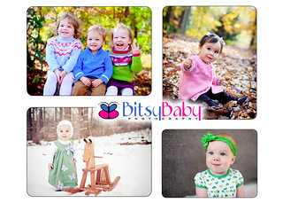 Fall Winter Collage | by Bitsy Baby Photography [Rita]